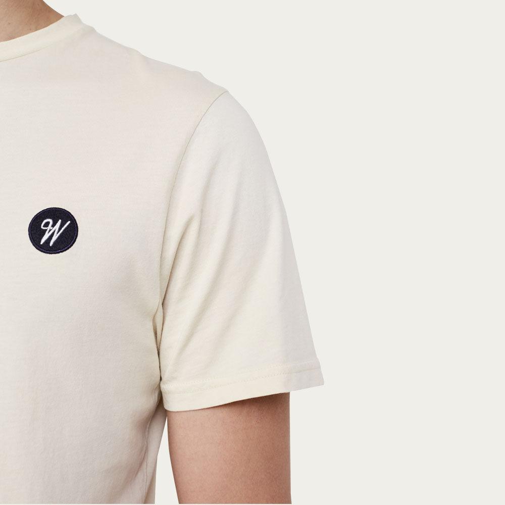 Light Clay Reid Badge Logo T-shirt    Bombinate