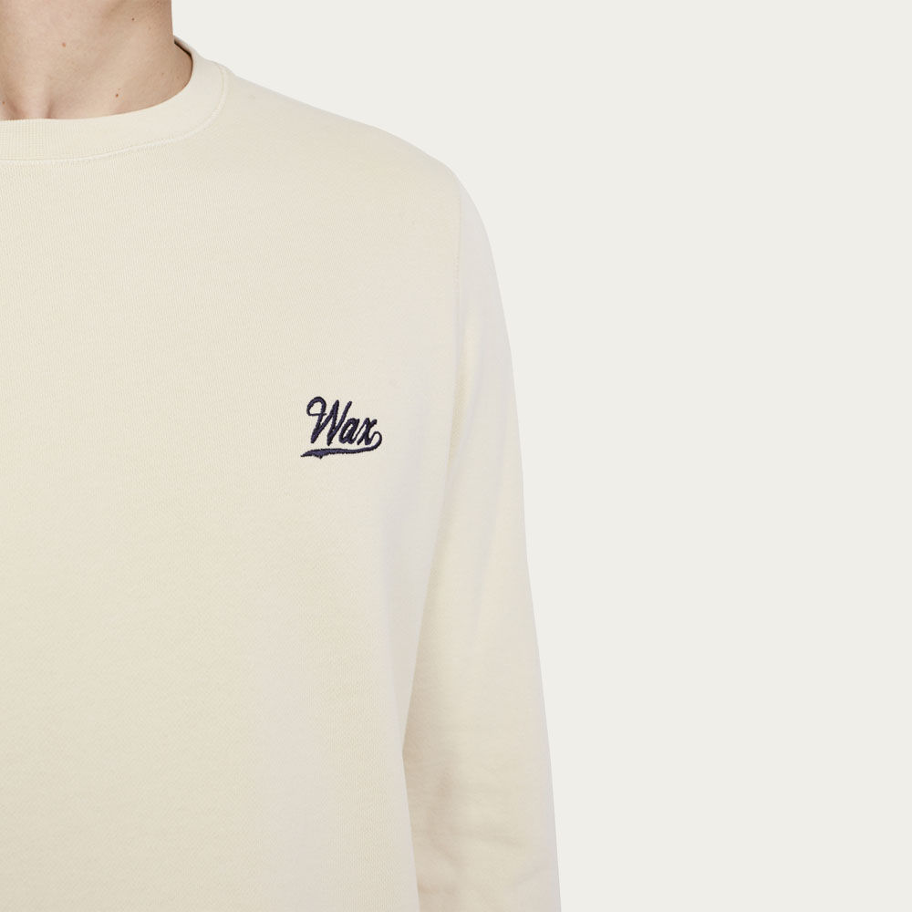 Light Clay Lind Wax Sweatshirt | Bombinate