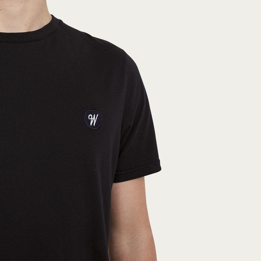 Black Reid Badge Logo T-shirt    Bombinate