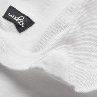 Pure White Davis Tailored Poloshirt | Bombinate