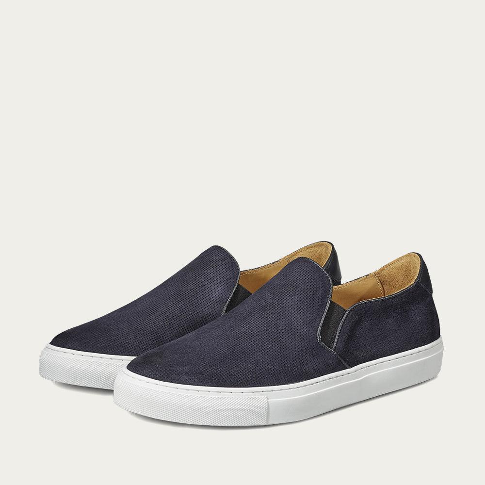Night Blue Stevens Slip-On Sneaker | Bombinate