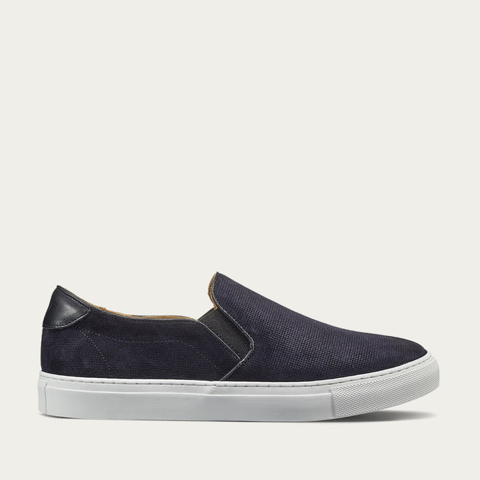 Night Blue Stevens Slip-On Sneaker | Bombinate