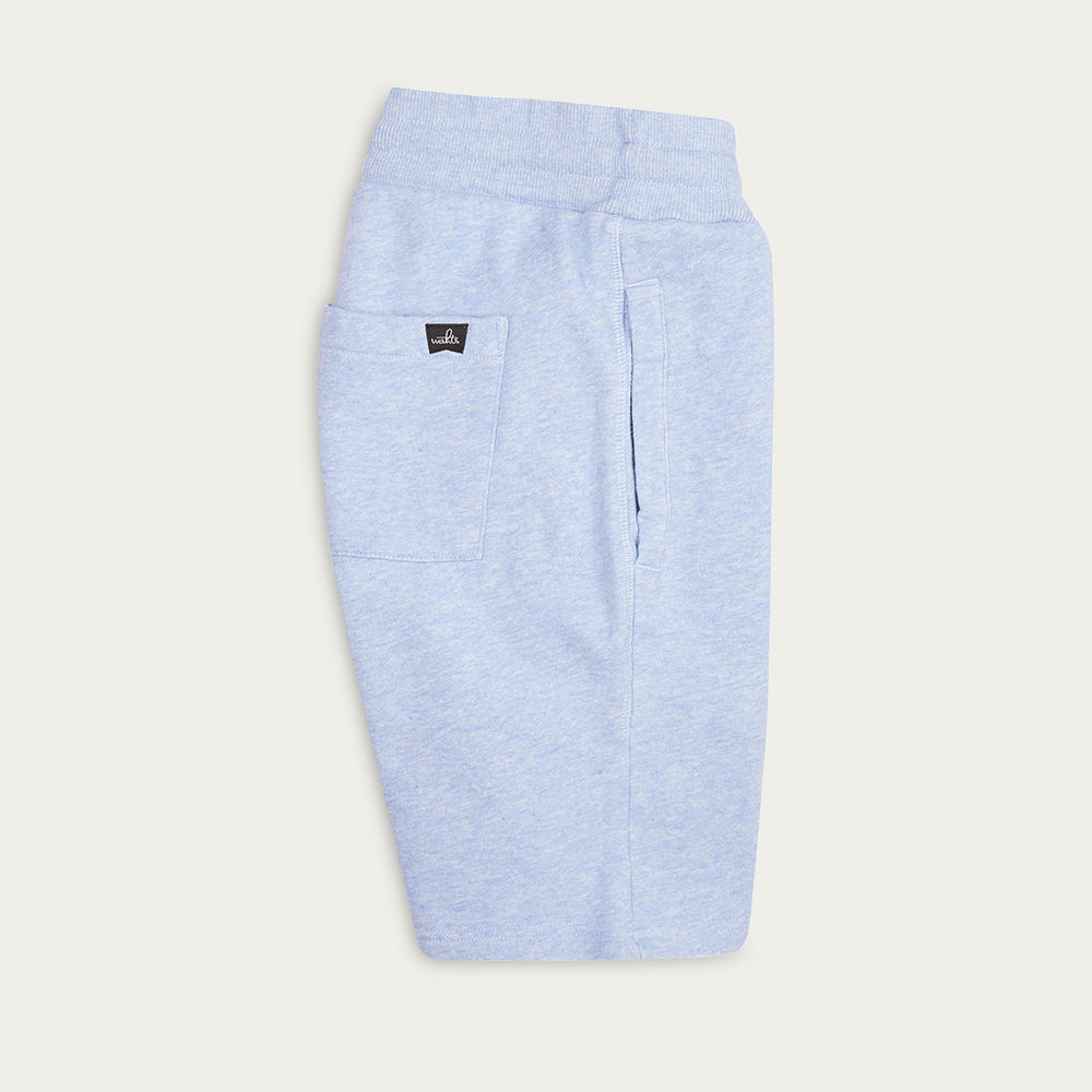 Light Marl Blue Troy Sweatshorts | Bombinate