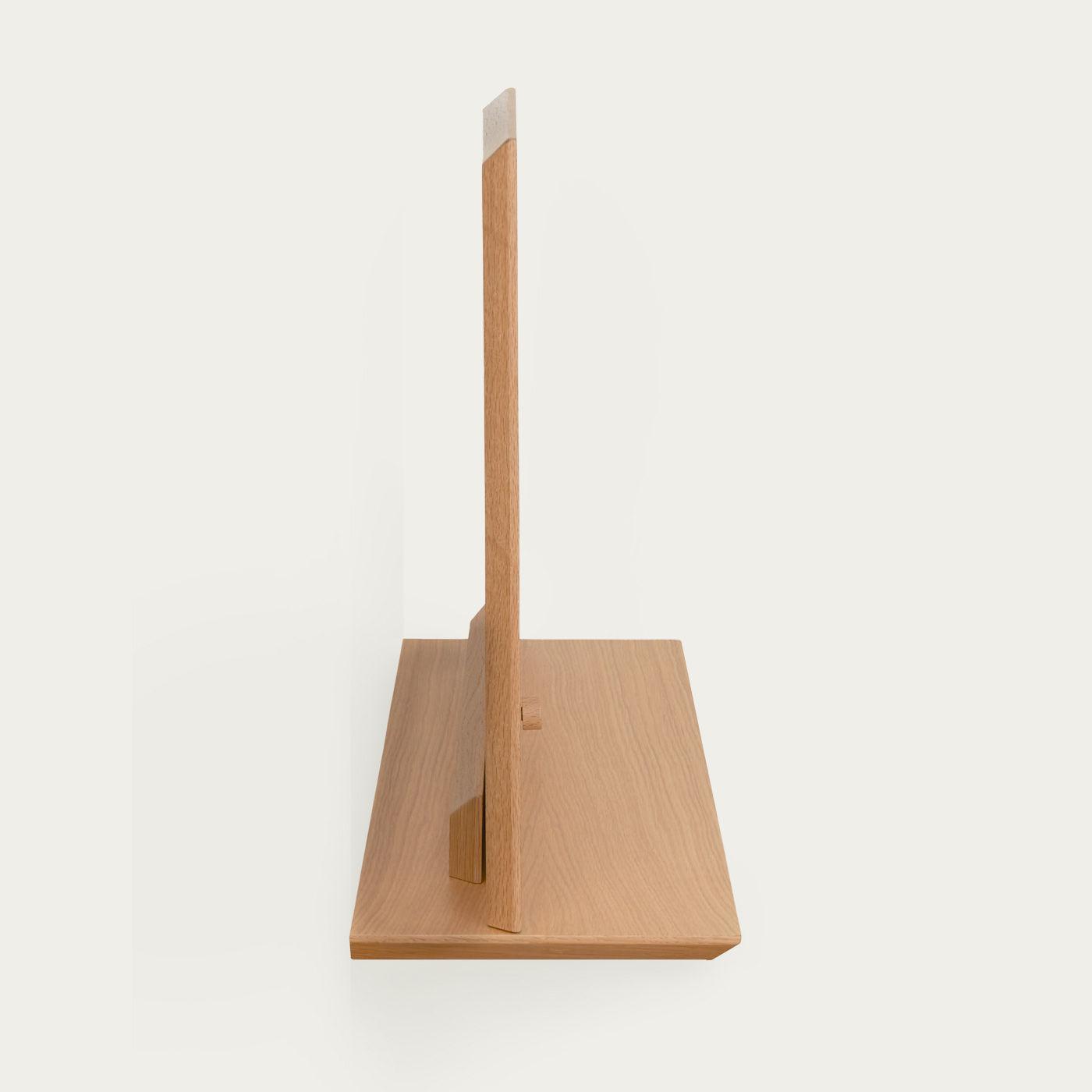 Oak Alada Floating Folding Desk | Bombinate