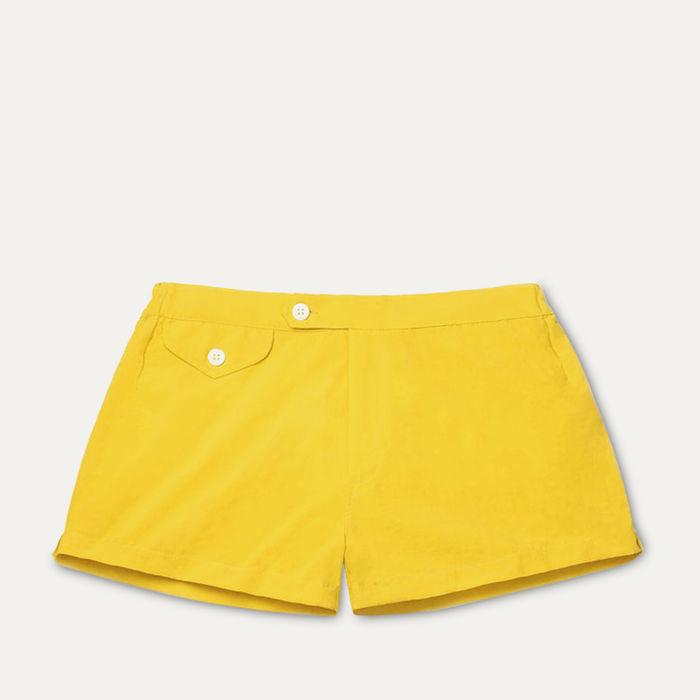 Yellow Ugo Swim Shorts | Bombinate