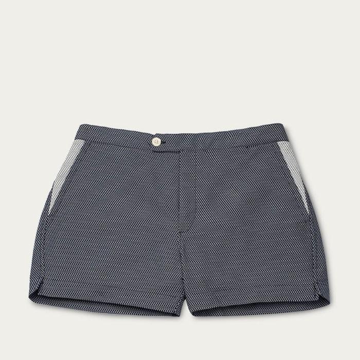 Black Luchino Swim Shorts | Bombinate