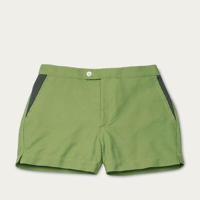 Dark Sea Green Luchino Swim Shorts | Bombinate