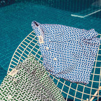 Blue Marcello Swim Trunks | Bombinate
