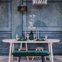 Natural Naive Dining Table   Bombinate