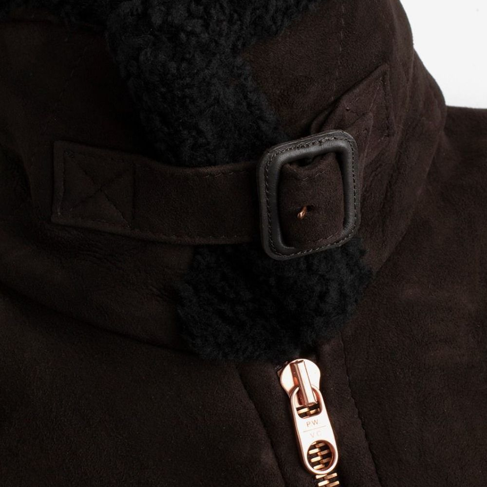 The Deluxe Shearling Flight Jacket  | Bombinate