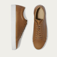 Double Caramel Series 1 Leather Sneakers | Bombinate