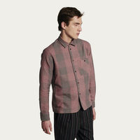 Strong Shirt in Wine Check Flannel | Bombinate