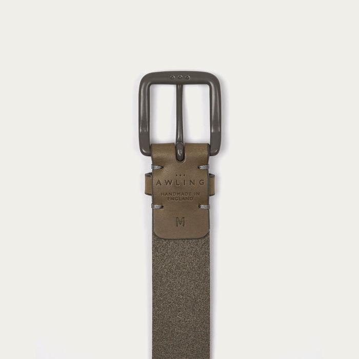 From Grey/Grey Modernist Belt | Bombinate