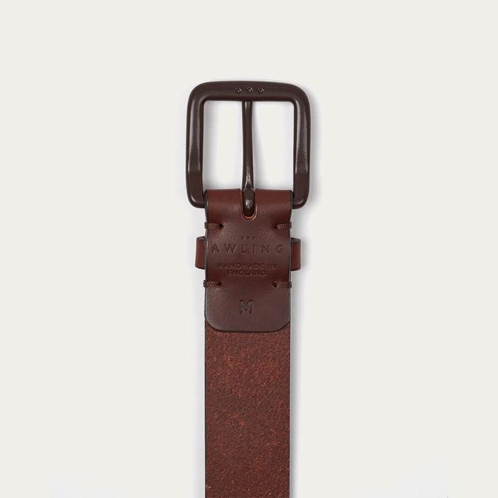 Russett Brown/Brown Modernist Belt | Bombinate