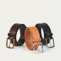 Tan/Polished Pewter Original Belt | Bombinate