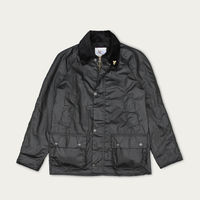 Black Lightweight Landowner Wax Walking Jacket | Bombinate