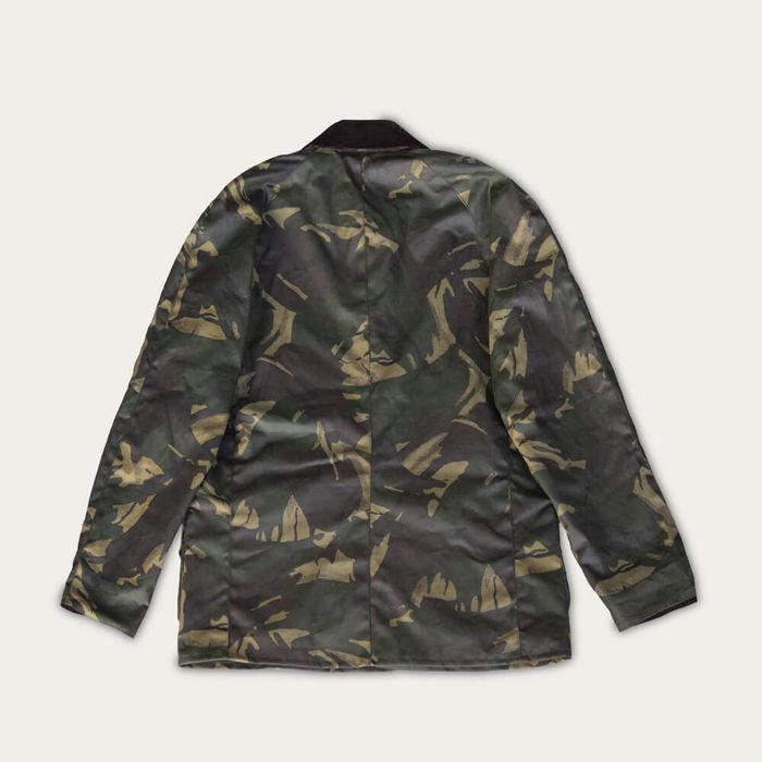 Olive Camo Landowner Wax Walking Jacket | Bombinate