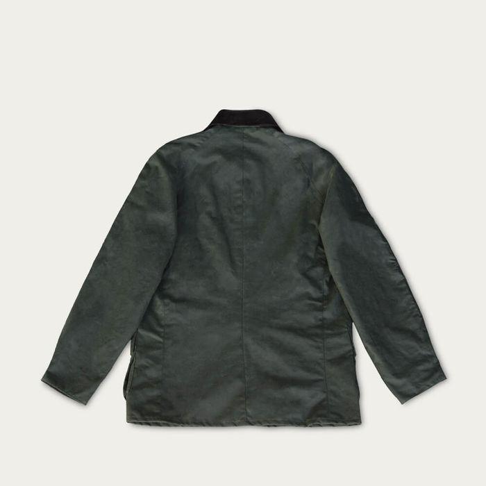 Sage Landowner Wax Walking Jacket | Bombinate