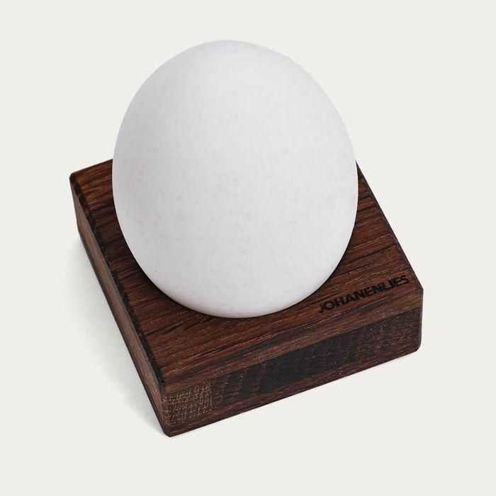 Antique Oak Kuckelei Eggcup | Bombinate