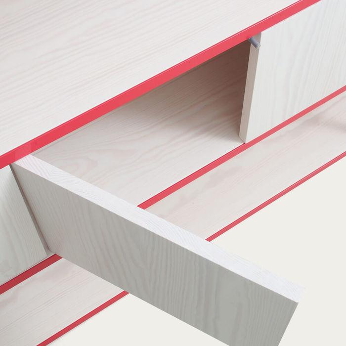Strawberry Red Celeste Mini Sideboard | Bombinate