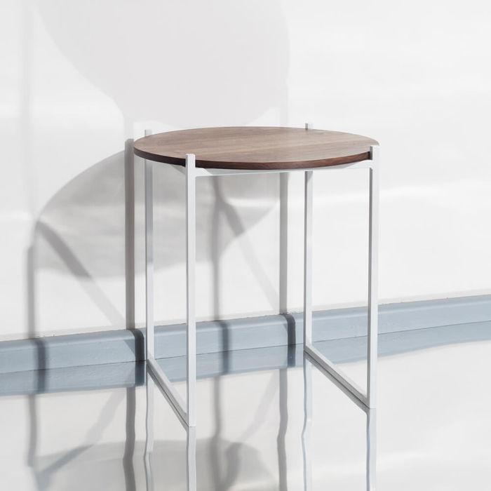 Walnut Lulu Side Table | Bombinate