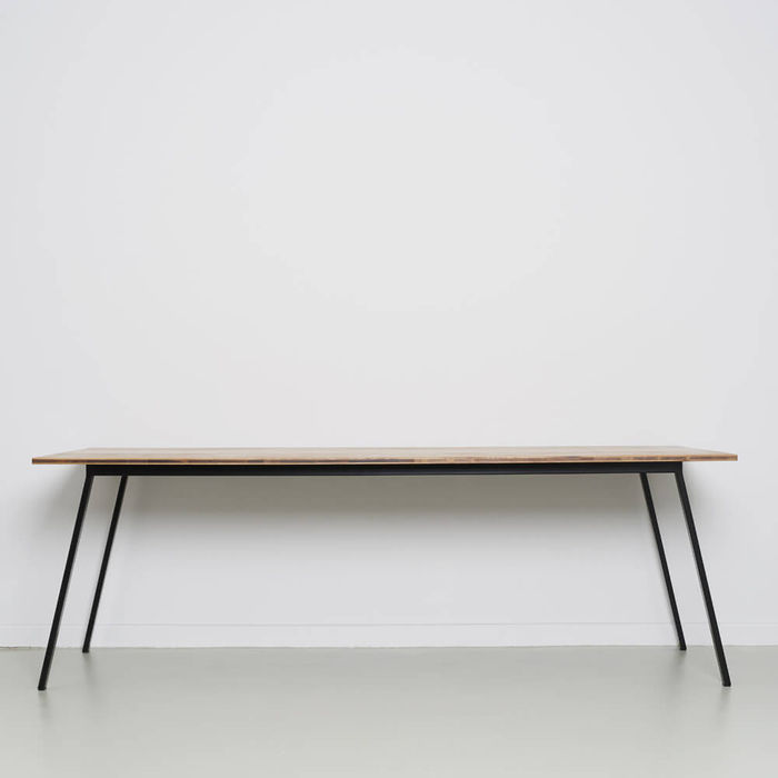 Oak Anthracite Valkenburg Table | Bombinate