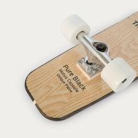 Pure Black Skateboard | Bombinate