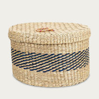 Round Baskets with Lid | Bombinate