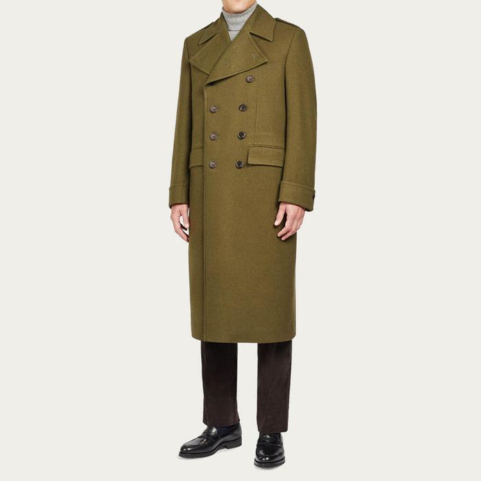 Althorp Double-Breasted Coat | Bombinate