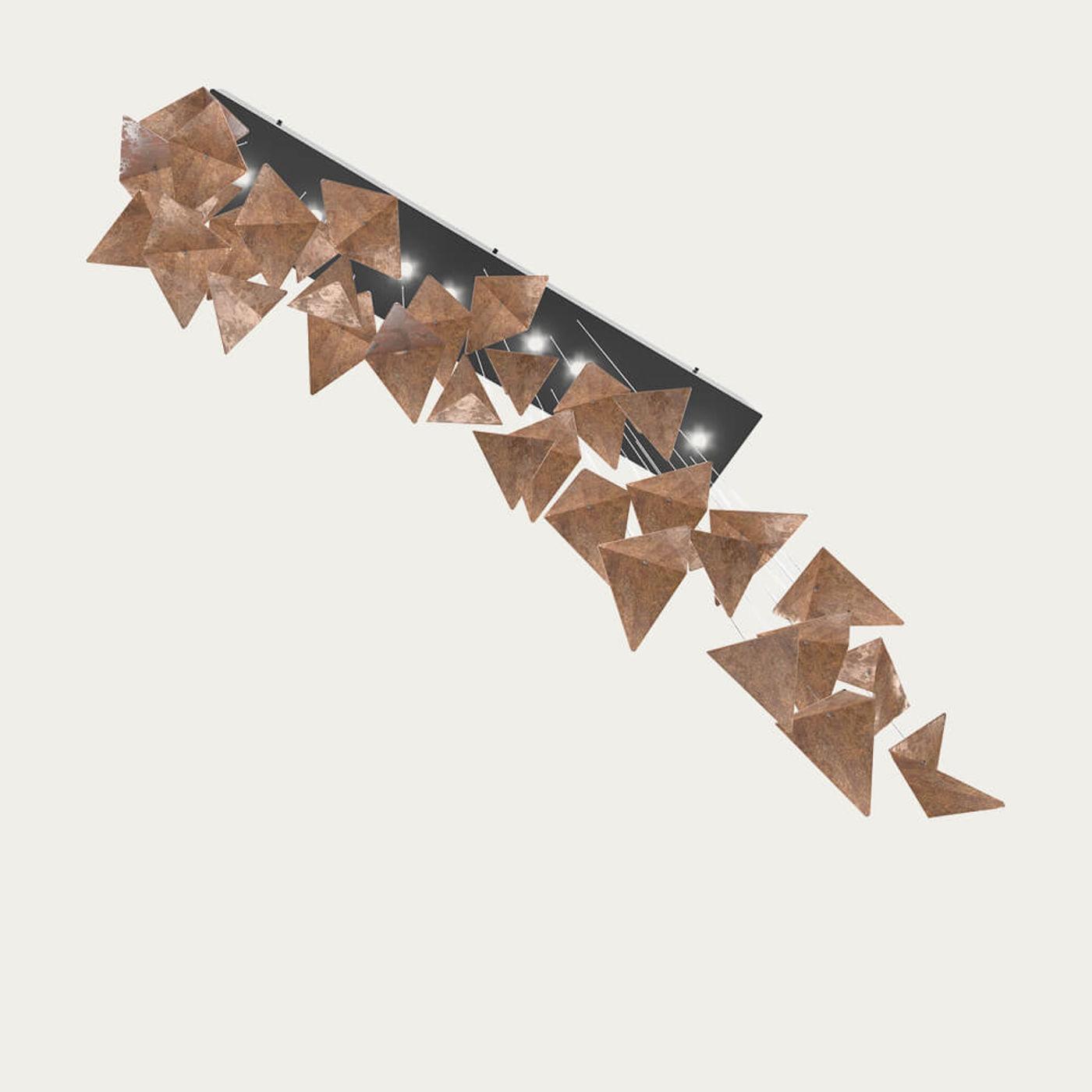 Black/Rust Viline Pendant Chandelier | Bombinate