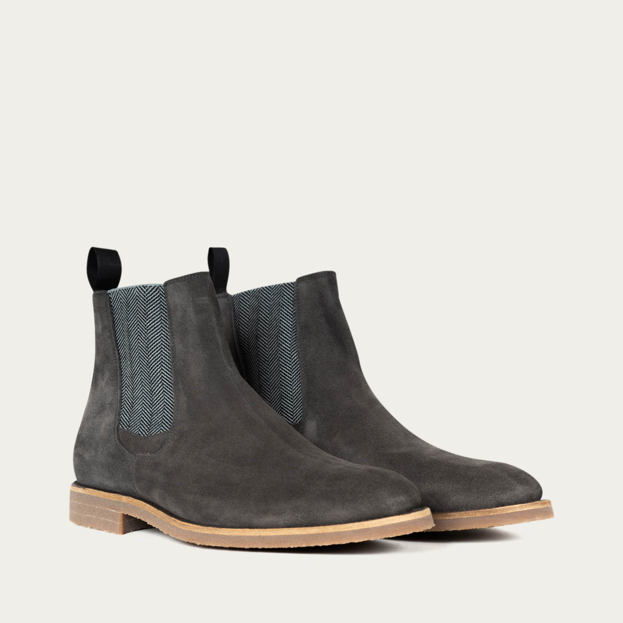 Anthracite Chelsea Boots | Bombinate
