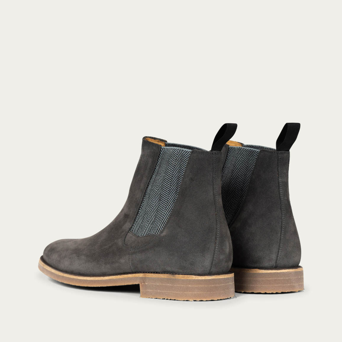 Anthracite Chelsea Boots 1