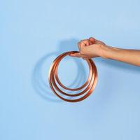 Copper Chakra Trivets | Bombinate