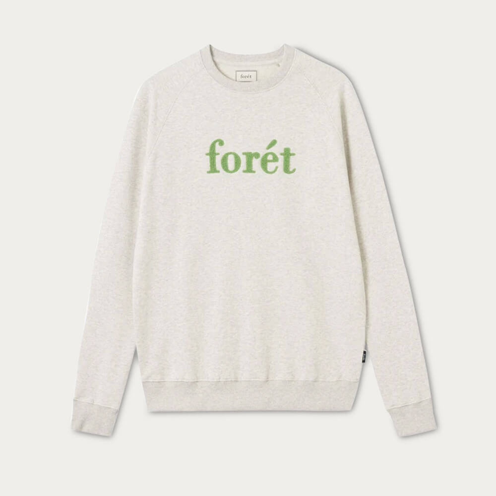 Oatmeal/Green Spruce Sweatshirt | Bombinate