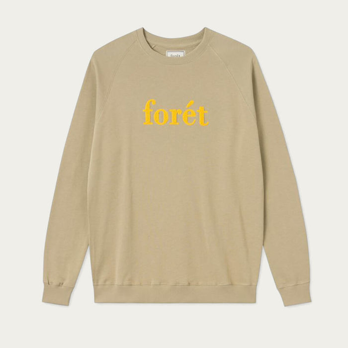 Khaki Yellow Spruce Sweatshirt | Bombinate