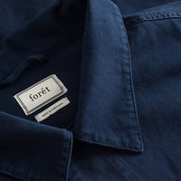 Midnight Blue Compass Jacket | Bombinate
