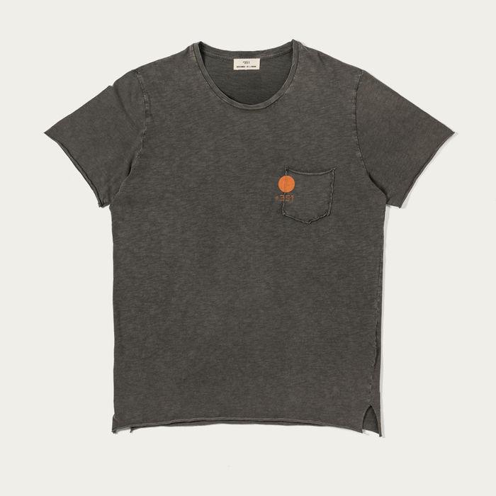 Rustic Sun Graphite Fade Out T-Shirt   Bombinate