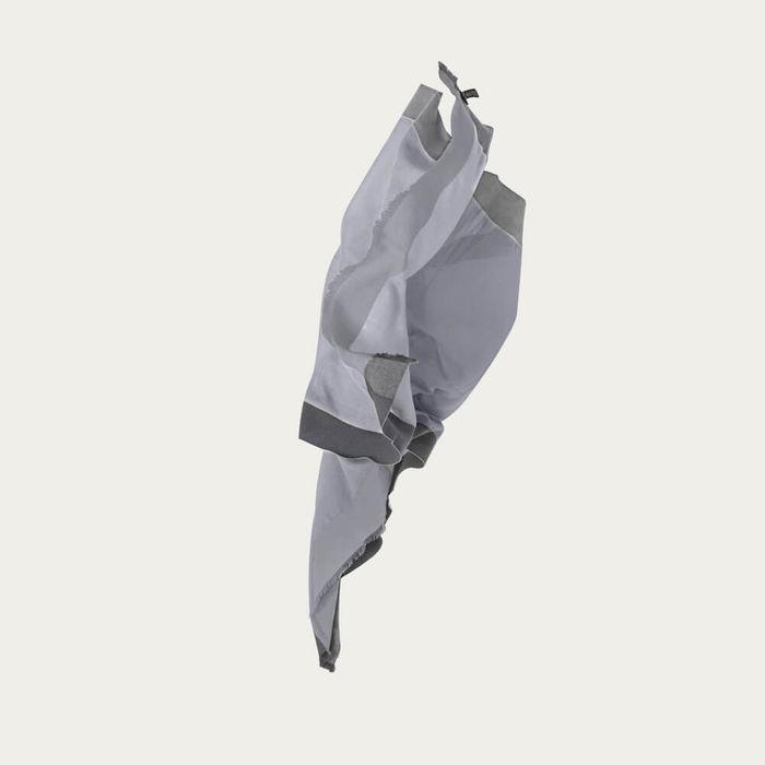 Grey & Anthracite Aldo Geometric Cashmere Scarf | Bombinate