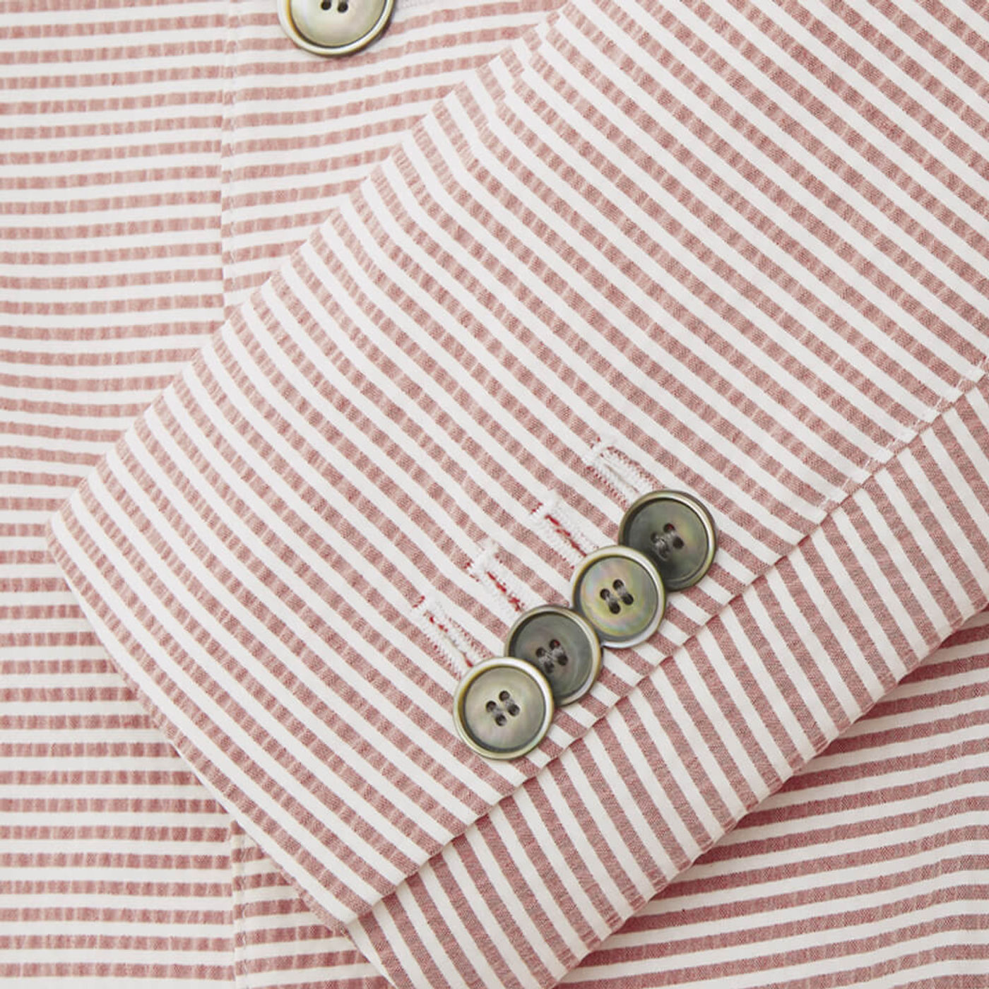 Pink Seersucker Stripe Jacket | Bombinate