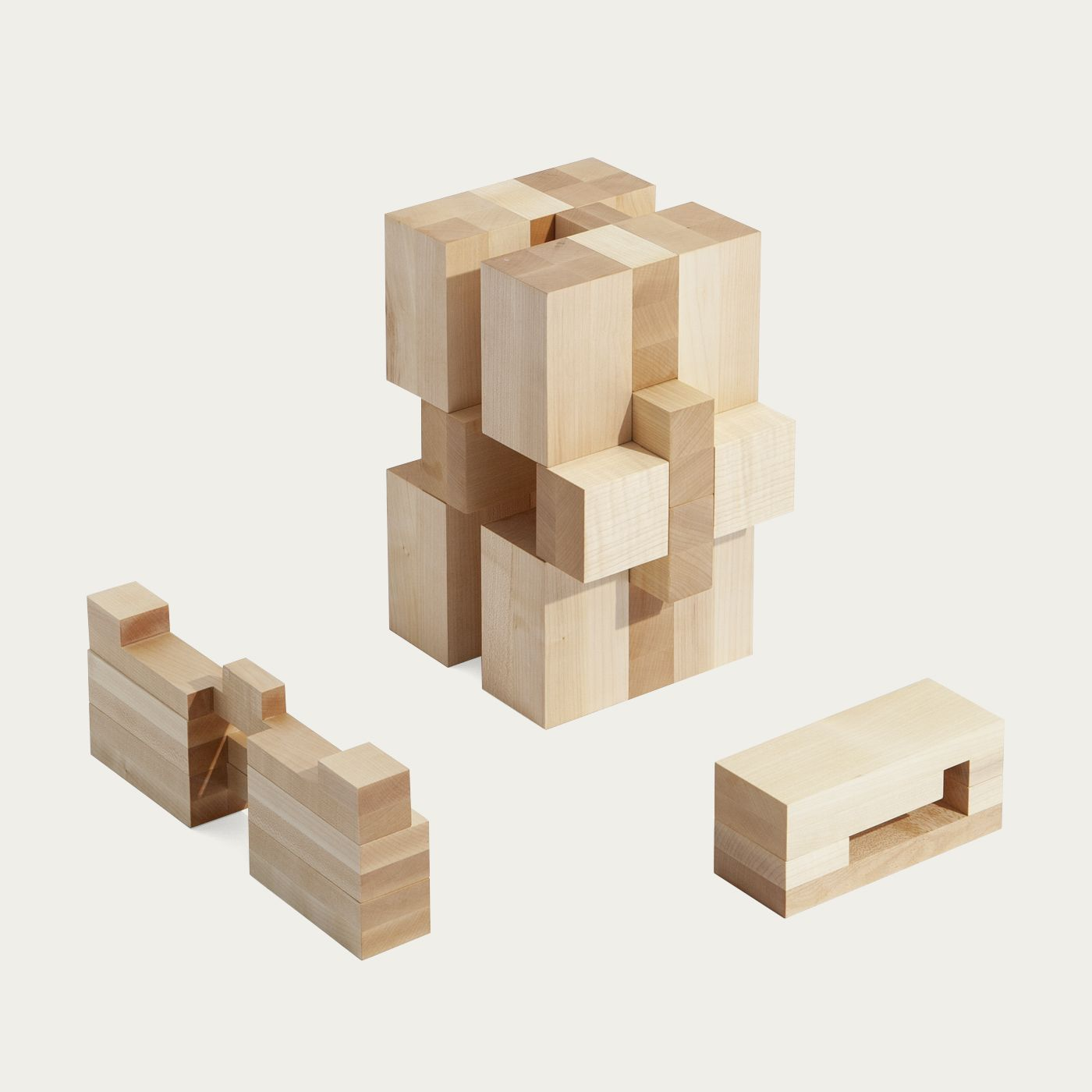 Mini Maple Stool And Side Table | Bombinate