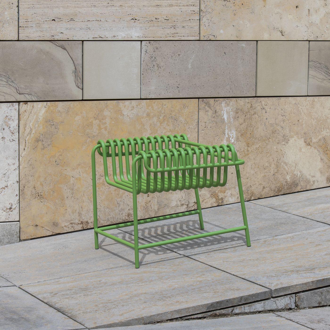 Green Steel Armchair | Bombinate
