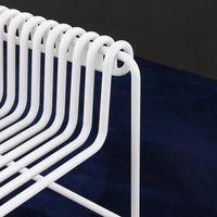 White Steel Armchair   Bombinate