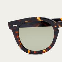 Dark Tortoise/Bottle Green Donegal Eco Sunglasses   Bombinate
