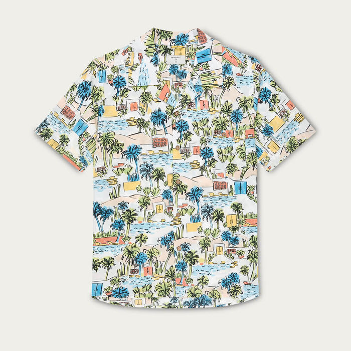 Miami Palm Cuban Short Sleeve Shirt | Bombinate