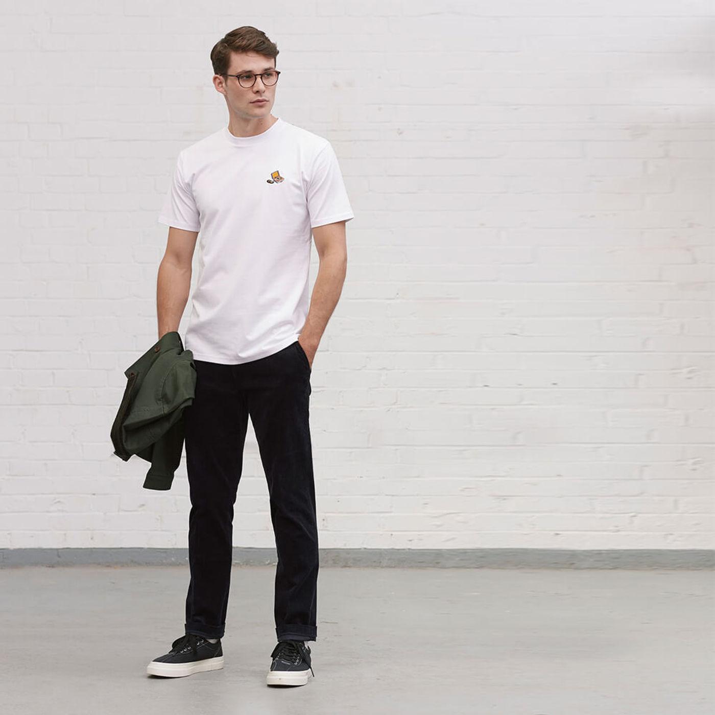 White Records T Shirt   Bombinate