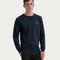 Navy Sweatshirt | Bonsai Tree Embroidery | Bombinate