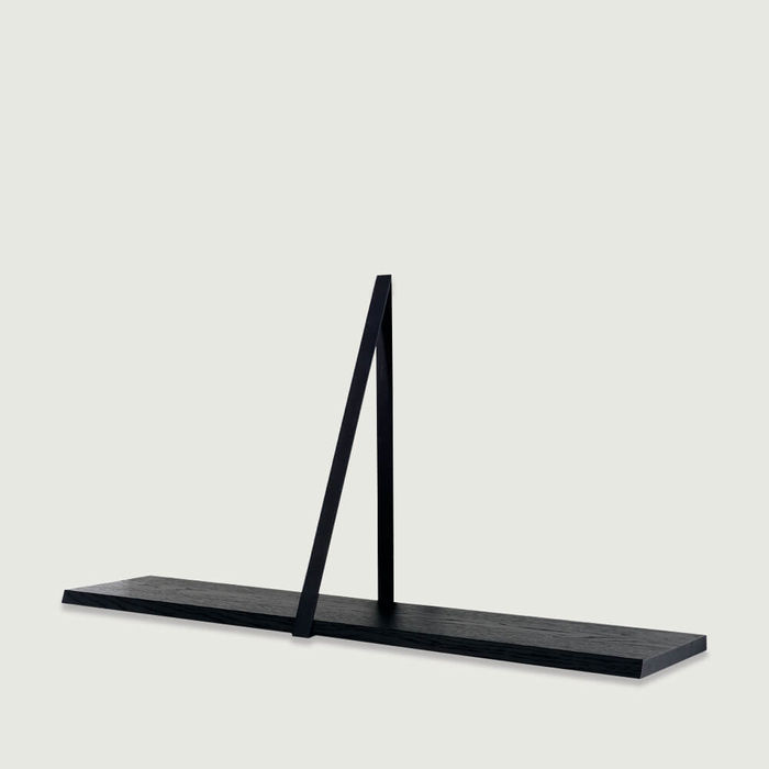 Black T-Square Wooden Shelf | Bombinate