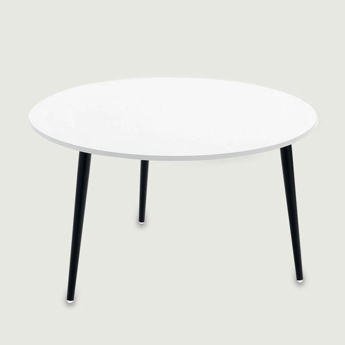 White Soho Round Coffee Table | Bombinate