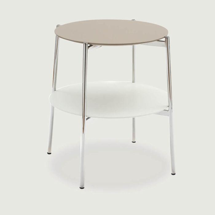 Beige Shika Side Table | Bombinate