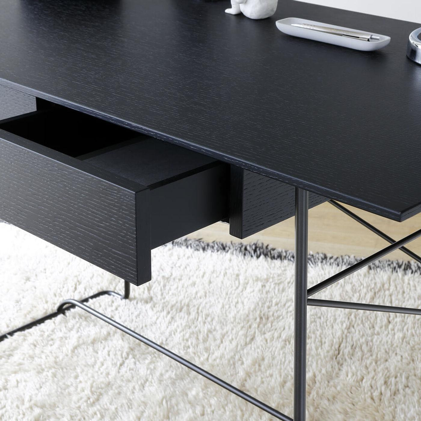 Black Brera Desk   Bombinate